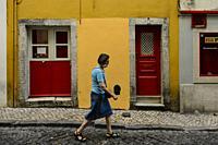 Bairro Alto in Lisbon, Portugal.