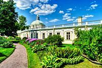 Old Menshikov Palace. Lomonosov Oranienbaum Russia.