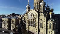 Church of the Assumption of the Blessed Mary. Vasilevsky island St.Petersburg, Russia Europe