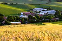Horny Kalnik village in northern Slovakia.
