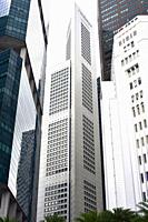 Singapore, skyscrapers.