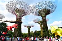 Singapore, Gardens by the Bay.