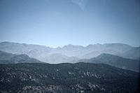 Atlas Mountains in Blue Shades - Morocco.