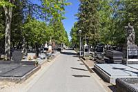 Europe, Luxembourg, Esch-sur-Alzette, Cemetière St Joseph (Saint Joseph Cemetery).
