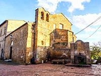 Romanesque church of Santa Maria Annunziata - Sovana, Italy.