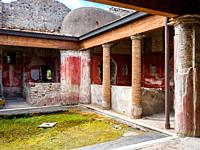 Praedia of Giulia Felice - The large complex of properties of Giulia Felice is implemented at the end of the 1st century BC following the incorporatio...
