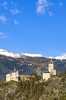 Sprechenstein Castle, South Tyrol, Italy.