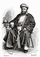 Tarya Topan, the millionaire. He was one of the richest merchants in the city of Zanzibar, Central Africa. Travel to unexplored Africa, the mysterious...