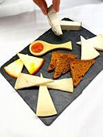 Cheese platter. Spain.