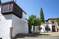 Cordoba Andalusia Spain white Andalusian architecture in the old town