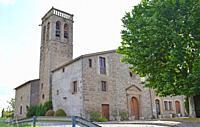 Church Santa Maria de Marles, Gerona Catalonia Spain.