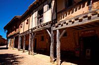 Calatañazor street. Soria.