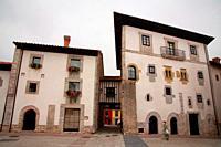 Buildings in Llanes. Asturias.
