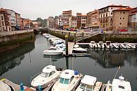 Port of Llanes. Asturias.
