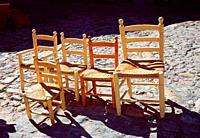 Cattail chairs.