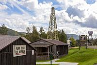 Bradford, Pennsylvania - The Penn Brad Oil Museum tells the story of the Bradford Oil Field, which produced 83% of United States oil with 90,000 wells...