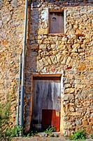 rural housing, Oix, Garrotxa, Catalonia, Spain