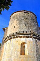church of Sant Llorenç d´Oix, Romanesque, Garrotxa, Catalonia, Spain