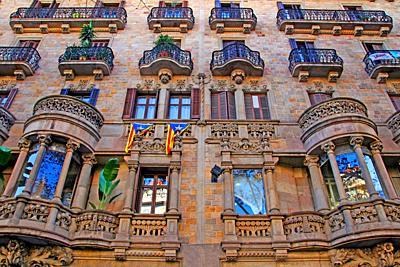 Casa Francesc Carreras, 1902, Catalan modernism, architect Antoni Millàs i Figuerola, Barcelona, Catalonia, Spain