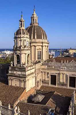 Saint Agathe Cathedral, Catania, Sicily, Italy.
