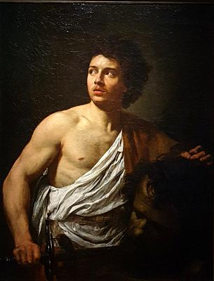 ´David with the Head of Goliath´, 1621, Simon Vouet (1590-1649)