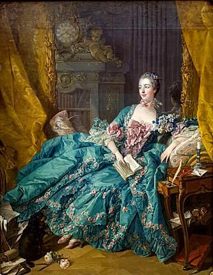 ´Madame de Pompadour´, 1756, François Boucher (1703-1770)