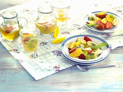 ensaladas de frutas / Fruit salad