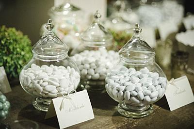 Confettata wedding, almond sweets of spouses.