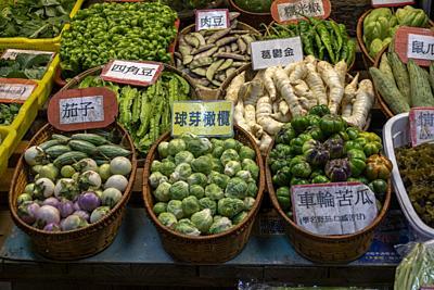 Night market in Hualien, Taiwan