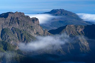 Caldera de Taburiente National Park, La Palma island, Canary Islands, Spain, Europe, Unesco Biosphere Reserve.
