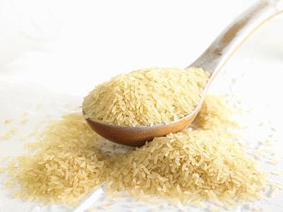 arroz vaporizado / Steamed rice