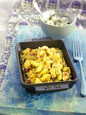 curry de pollo / chicken curry