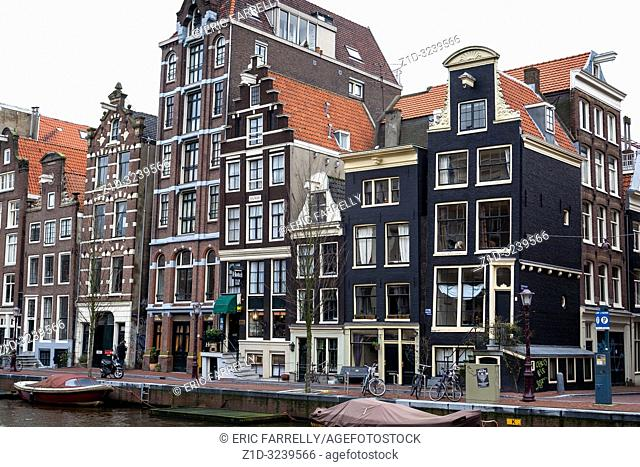 amsterdam architecture . Canal house Holland