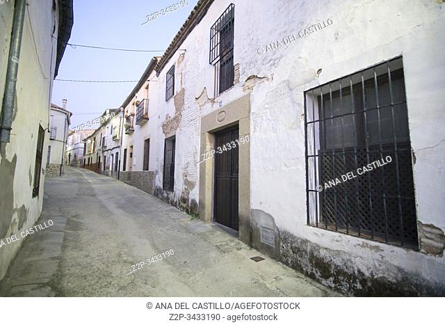 Oropesa in Toledo province, Castile La Mancha, Spain: NS Recuerdo convent