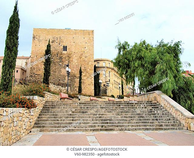 -Ancient Prison Roman in Tarraco- Tarragona(Spain)