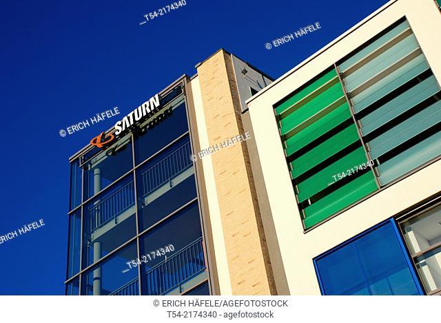 Saturn consumer electronics market in Schweinfurt