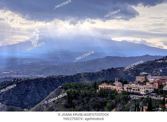 Etna, Taormina, Messina, Sicily, Italy