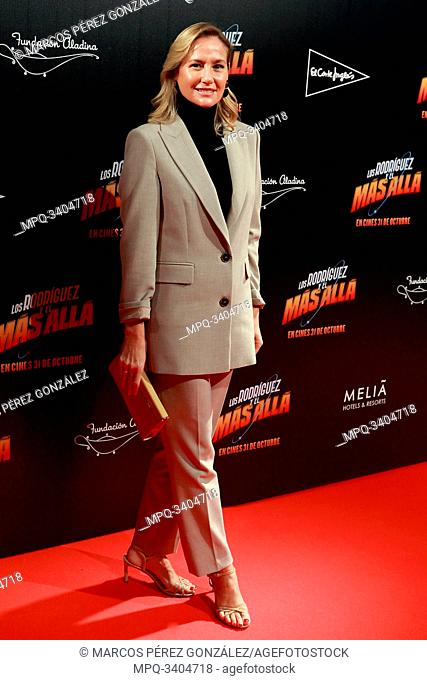 """Fiona Ferrer Attends the photocall of the movie """"Los Rodríguez y el más allá""""..October 23, 2019 Callao cinema, Madrid"""