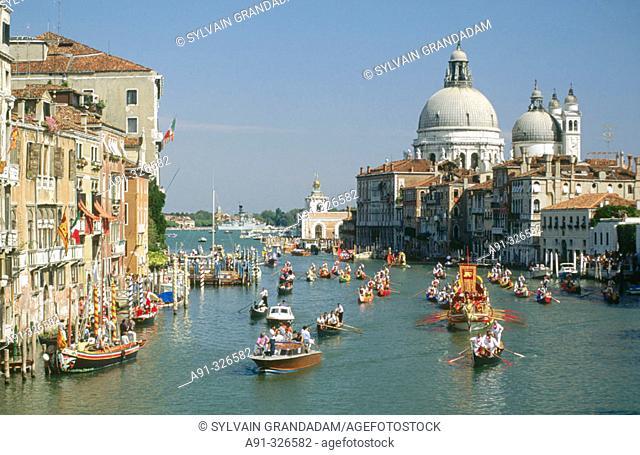 Regata Storica (Historical Regata). Venice. Italy
