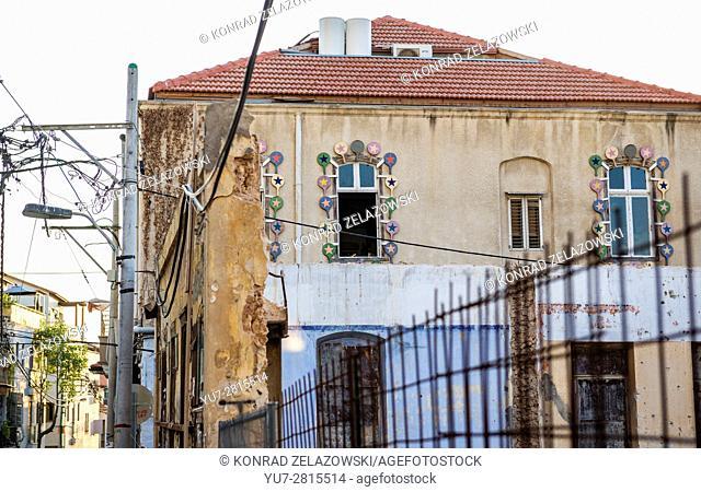 House in Neve Tzedek neighborhood, Tel Aviv city, Israel