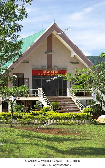 Khe Sanh Combat Base museum former Demilitarized Zone Vietnam