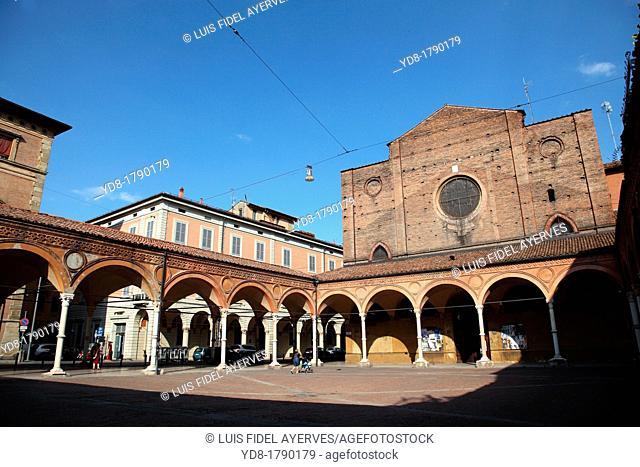 Europe, italy, emilia romagna, bologna, santa maria dei servi