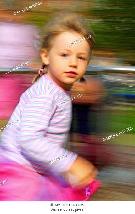 playground portrait