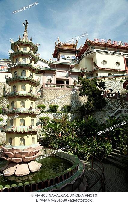 Kek lok si buddha temple, penang, malaysia, asia
