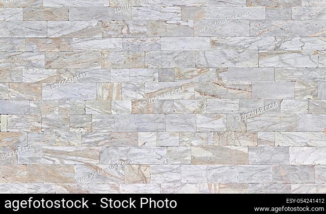 Rustikaler Marmorfassade in Postergroesse