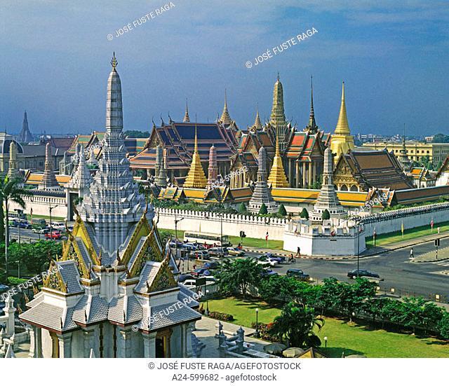 The Grand Palace. Bangkok City. Thailand. January 2007