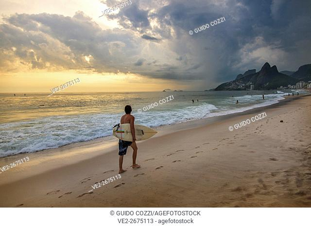 Ipanema beach, Rio de Janeiro, Brazil