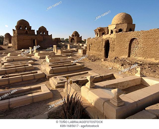 Fatimid cemetery Aswan Upper Egypt