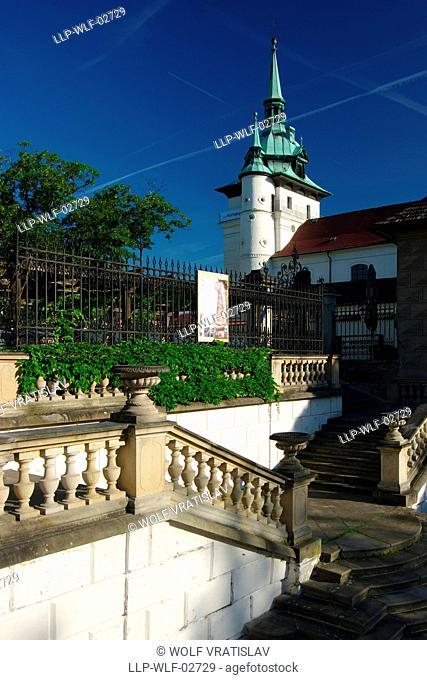 Bird Staircase in Teplice, Usti nad Labem Region, Czech Republic