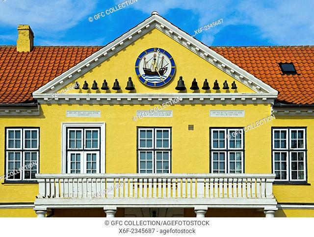 Townhall Nysted, Lolland, Nysted, Denmark